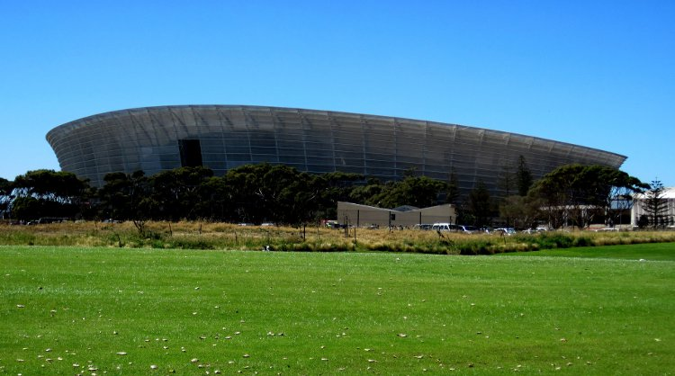 Click the image for a view of: Green Point Stadium